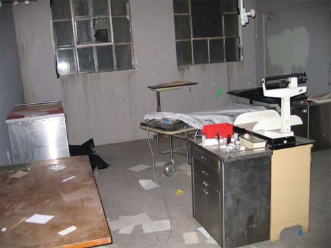 abandoned linda vista hospital operating room
