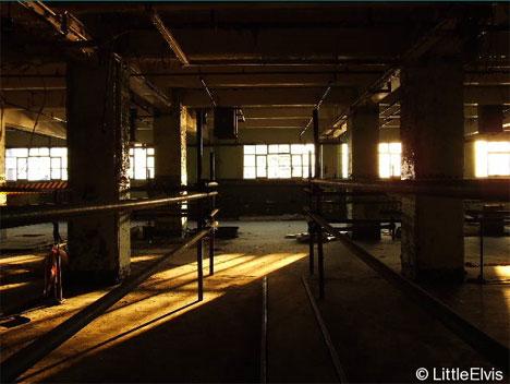 abandoned millenium mills london