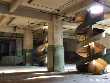 abandoned millenium mills london