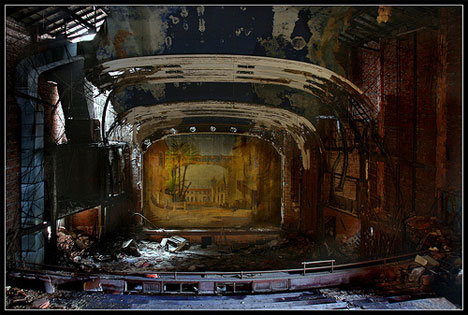 photos of abandoned theater