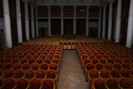 abandoned russian theater