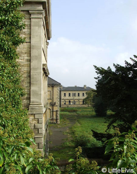 abandoned st johns lincolnshire county pauper asylum exterior