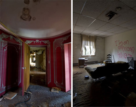 abandoned sterling hotel rooms
