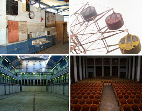 abandoned theme parks theaters schools and pools