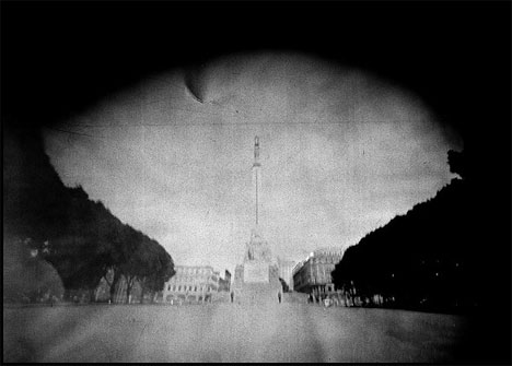 andrius narvicius suitcase pinhole photography