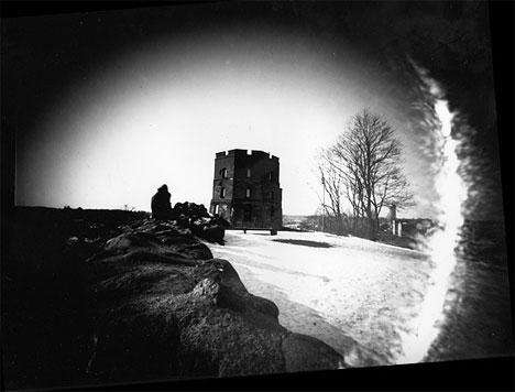 Andrius Narvicius Suitcase Pinhole Photography