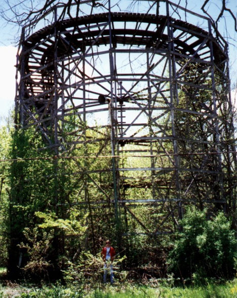 chippewa lake abandoned amusement park