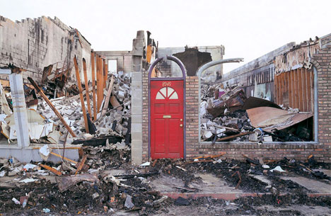 Chris Jordan In Katrina's Wake red door