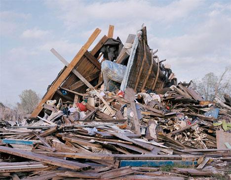 Chris Jordan Katrina trash pile
