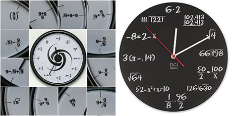 Triple 9 Society and Maths clocks