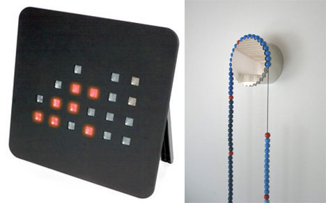 Binary and Bead clocks