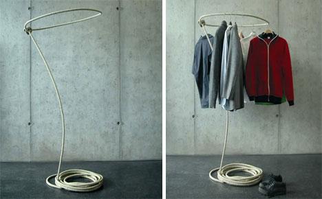 Lasso Coat Rack
