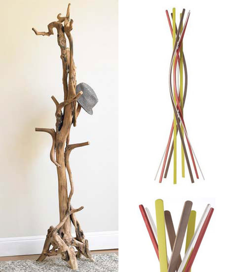 Entwined Root + Twist Coat Rack