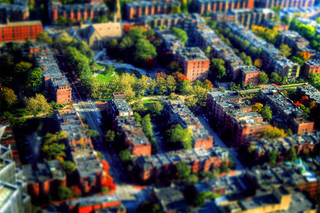 Donnie Dark0 David Legnon tilt shift boston photography