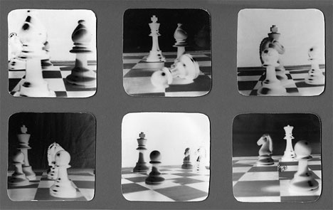 erike dudaite pinhole photography chess game