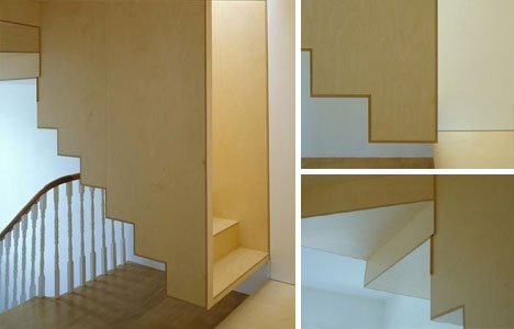 15 crazy modern stairs creative staircase designs urbanist for Stair box in bedroom ideas
