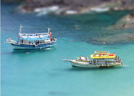 Kris Kros tilt shift photography