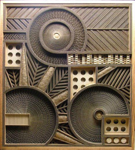 Cardboard Art Deepfun