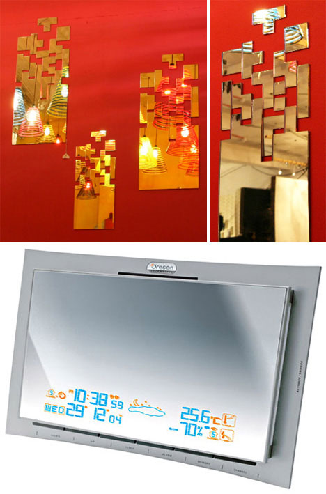 Tetris Mirror and Weather Mirror