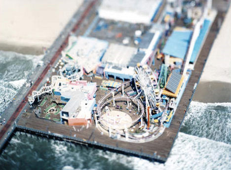 Olivo Barbieri tilt shift photography
