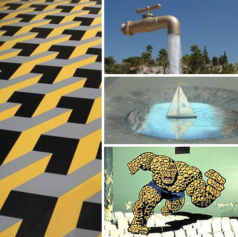 20 Artistic Wall Warping Architectural Optical Illusions