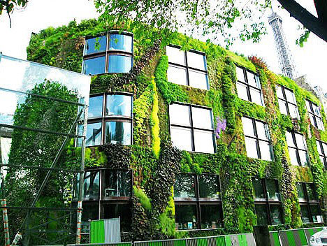 Organic architecture 12 beautifully curved buildings for Edificios con jardines verticales
