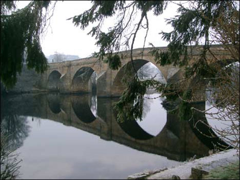 reflection and symmetry bridge