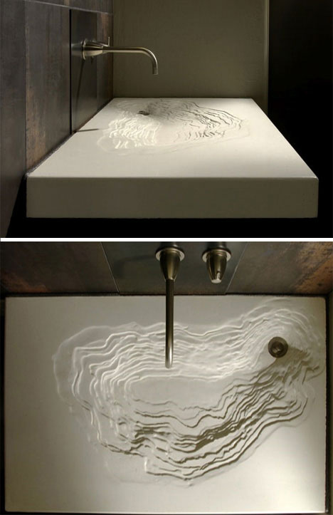 Sweet sinks 16 modern sink wash basin designs urbanist - Designer sink image ...
