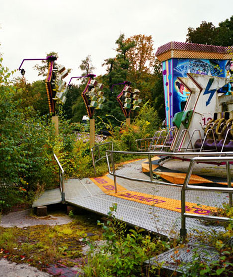 12 Abandoned Theme Parks, Theaters, Schools & Pools