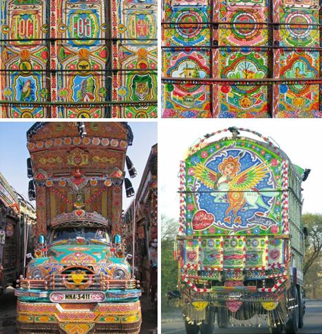 Moving Truck Companies >> Art on Wheels: The Magnificent Truck Art of Pakistan | Urbanist