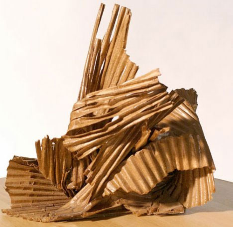 Out of the box sculptures 5 amazing cardboard artists for 3d art sculpture ideas