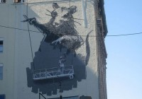 Banksy Rat Stencils and Graffiti