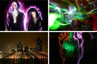 Creative Light Graffiti Art of MRI