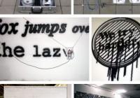Programmed Portable Computer Graffiti Writer