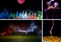 Playfully Abstract Light Art by Jaras