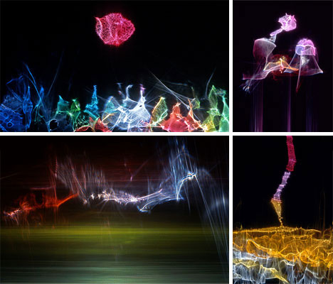 Greatest Playfully Abstract Light Art by Jaras | Urbanist PB68
