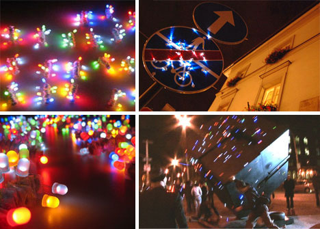 led throwies controversial light art urbanist