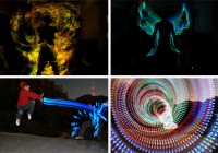 Vibrantly Heroic Light Graffiti by Beneziger