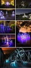 Cityscape Light Drawings by Michael Bosanko