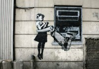 Banksy Children Graffiti and Stencils