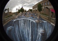 3D Large Format Street Art by Mueller