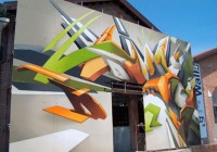 3D Wall Graffiti Tagging by Daim