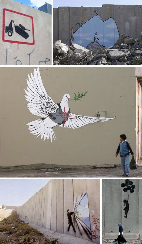 Banksy Art and Graffiti in Palestine