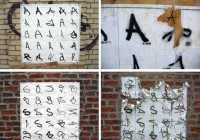 Graffiti Alphabet Geek Graffiti Installation