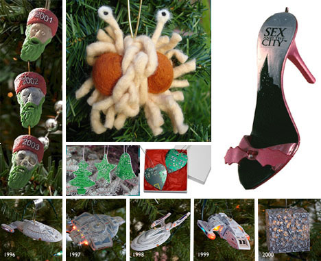54 Creepy, Bizarre and Geeky Xmas Tree Ornaments