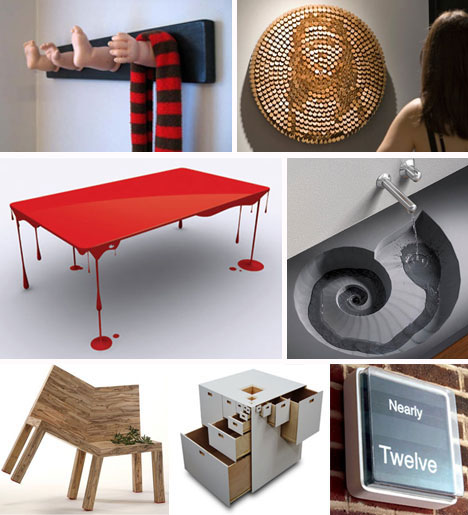 Funky furnitures 142 creative modern furniture designs for Cool furniture ideas