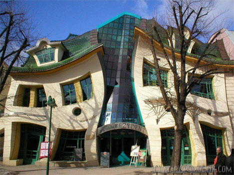 crooked house sopot poland - Worlds Beautiful Houses
