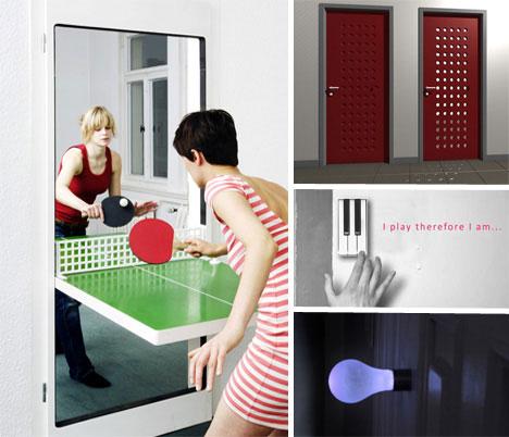 Daringly Different 14 Cool Contemporary Door Designs & Daringly Different: 14 Cool Contemporary Door Designs | Urbanist