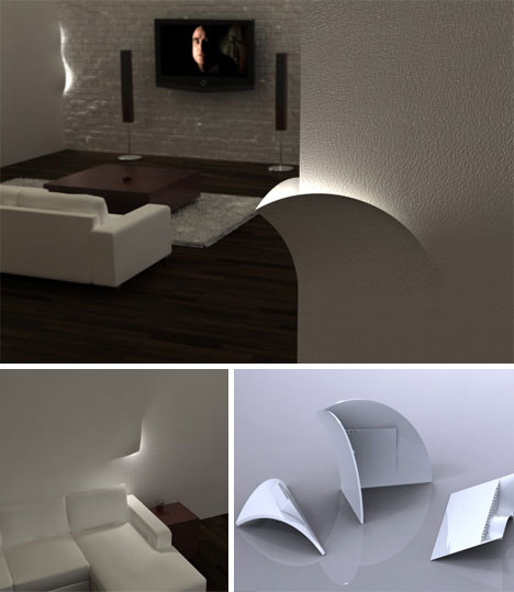 Torn lighting system