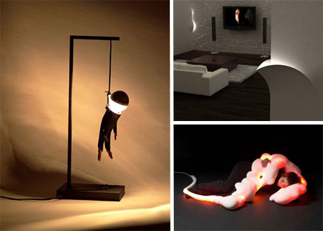 20 Unconventional Modern Lamps Amp Lighting Designs